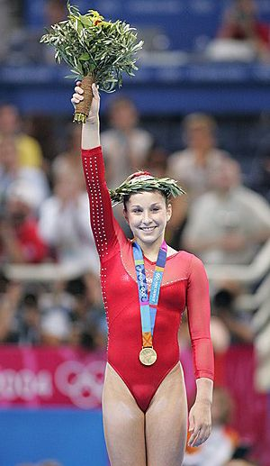 gymnast Carly patterson olympic
