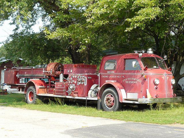 Old Fire truck | Fire trucks, Trucks, Fire apparatus