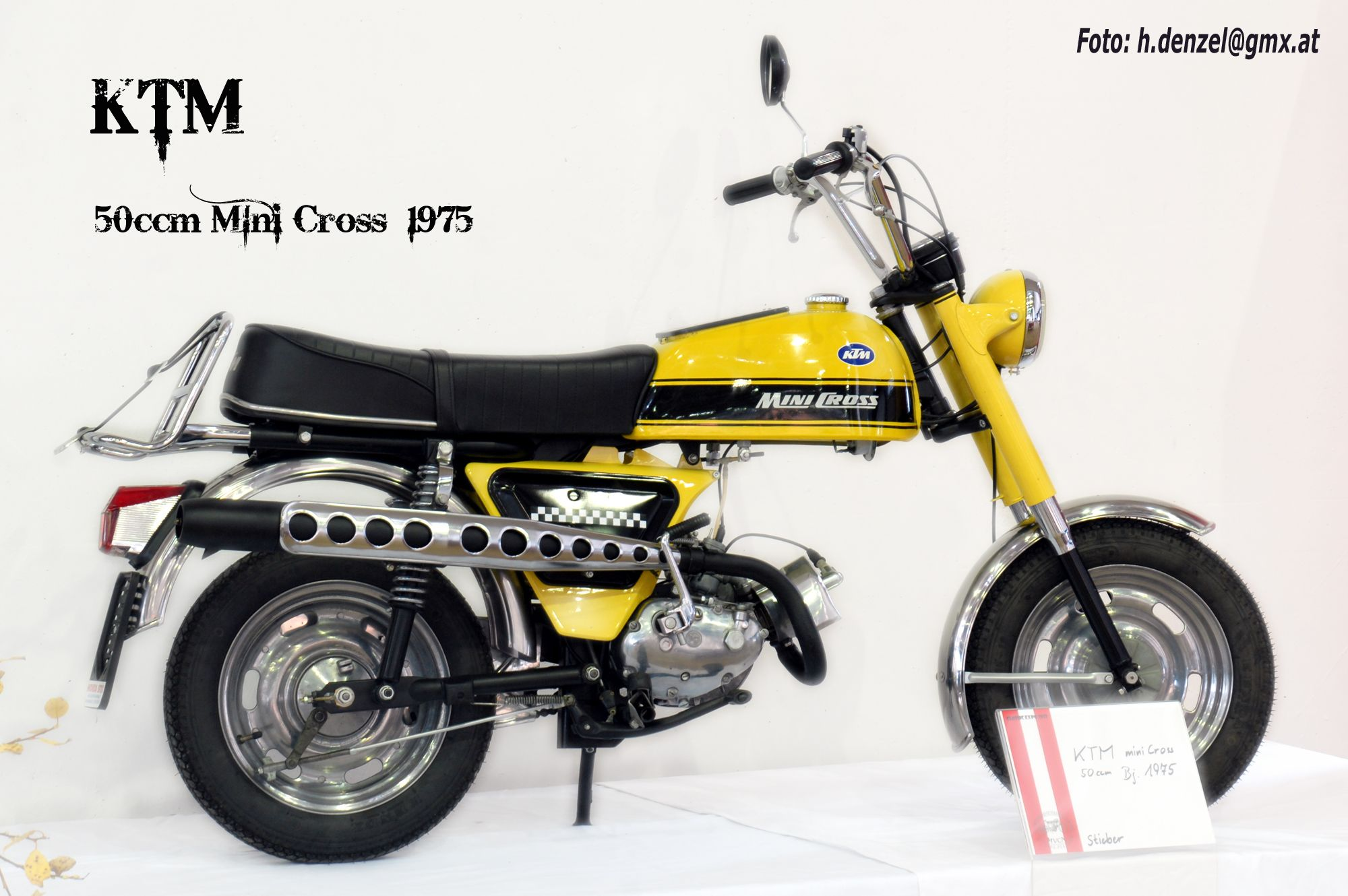 ktm 50ccm mini cross 1975 benzinradl 39 n motorcycle. Black Bedroom Furniture Sets. Home Design Ideas