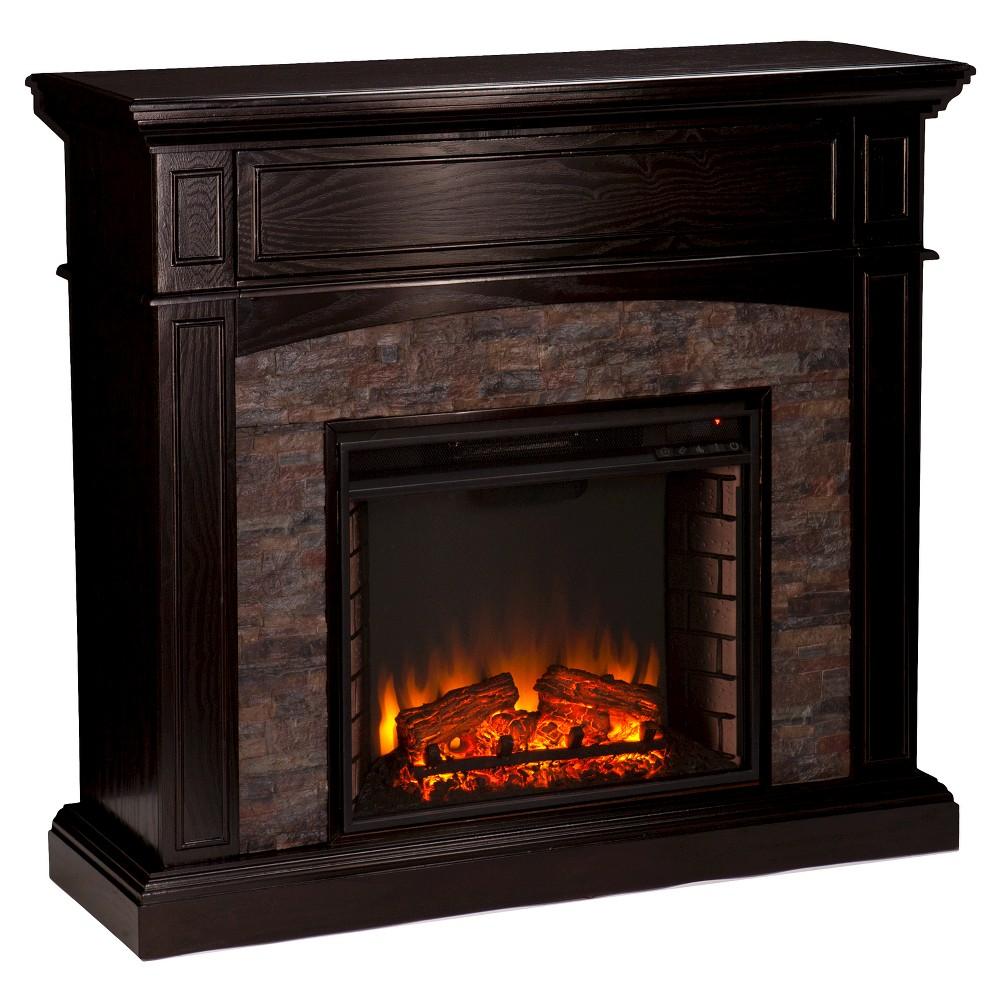 42 Decorative Fireplace Brown Aiden Lane șemineu