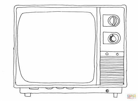 Disegno Televisione Da Colorare.Digitale Terrestre Mise Nessuna Rottamazione Dei Tv Pagine