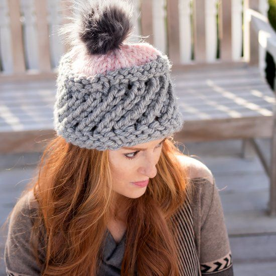 This Swirl Hat looks complicated, but it's actually really ...