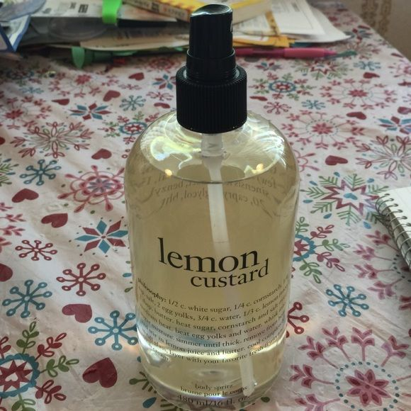 Philosophy Lemon Custard Body Spritz Lemon Custard Spritz Custard
