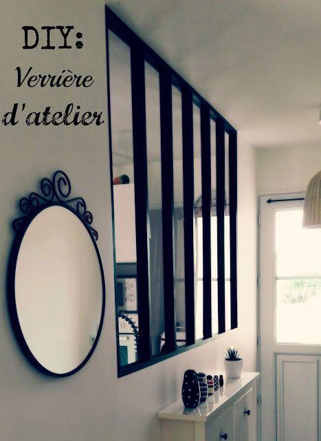 Fabriquer soit même une verrière d\u0027atelier pour moins de 150 euros - Cout Annexe Construction Maison