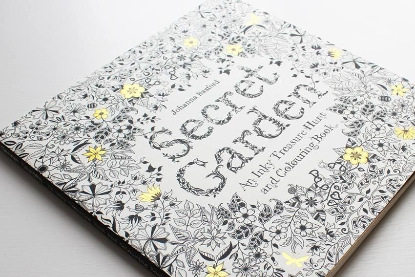 Johanna Basfords First Adult Coloring Book Secret Garden Was Translated Into 14 Languages