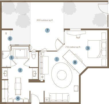 Stay In Ultimate Comfort In Tufa Suite Bardessono Yountville