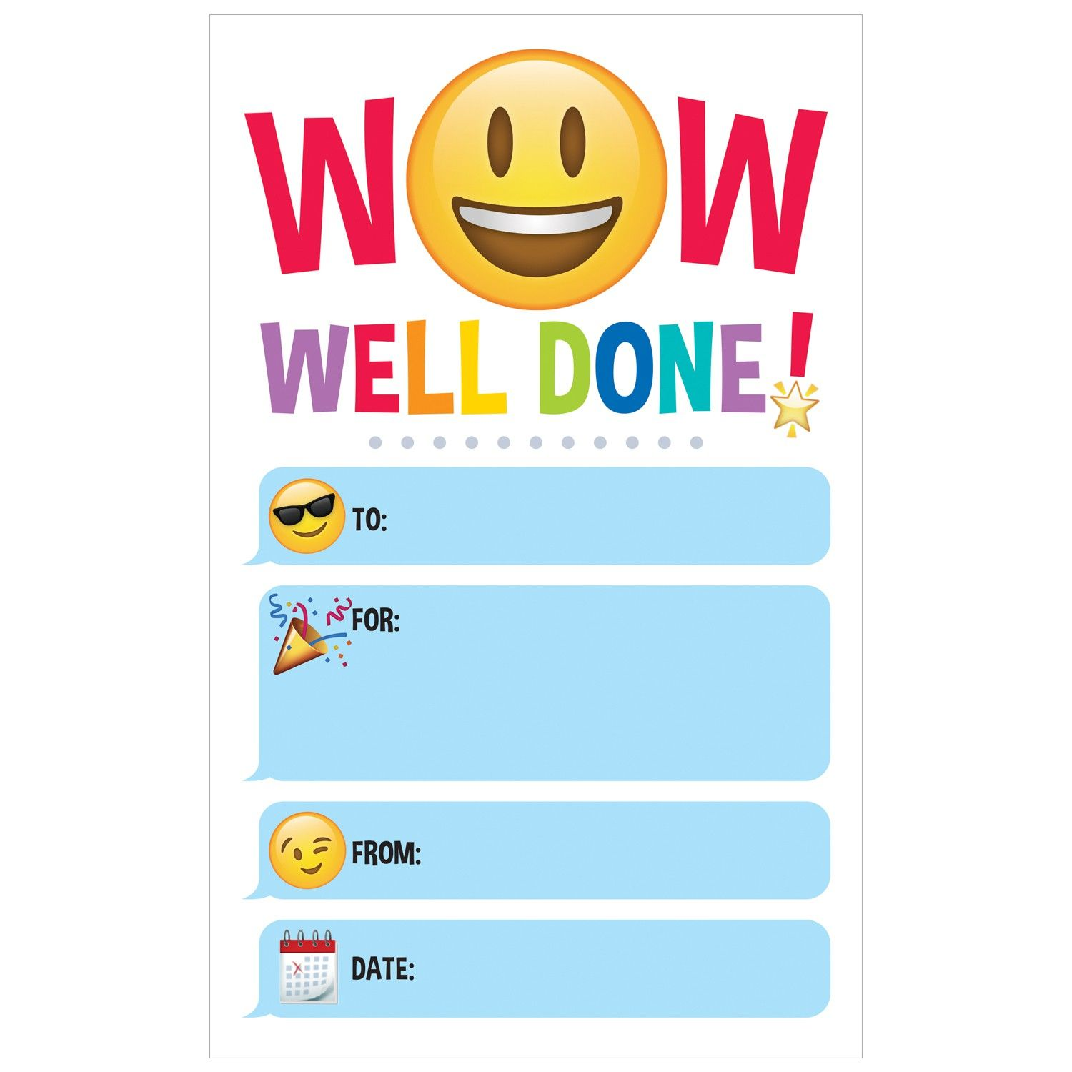 Emoji wow certificates abc pinterest emoji certificate and certificates 1betcityfo Images