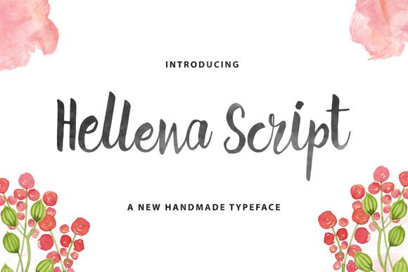 {FREE} Hellena Script by QueenType on Creative Market #font