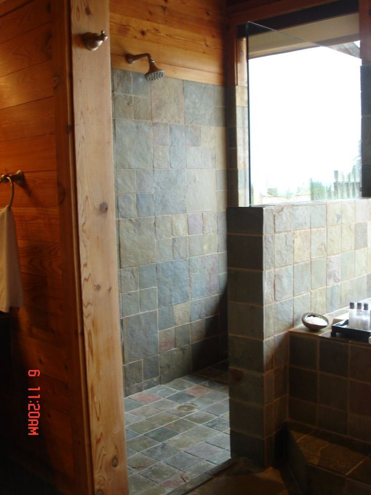 Showers Without Doors Designreally Hate Cleaning Glass Shower - Tile shower designs without doors