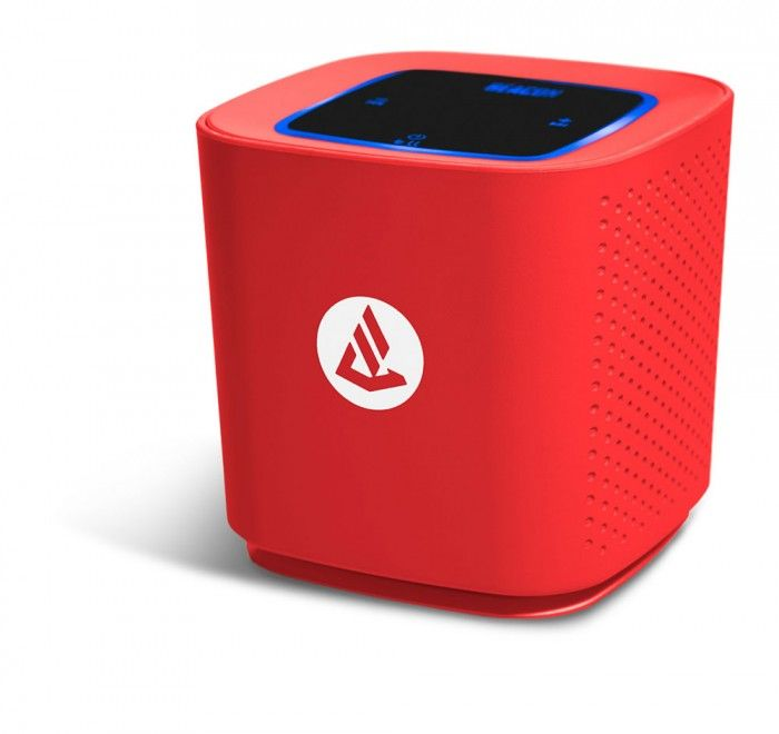 Beacon Phoenix Red Portable Bluetooth Speaker