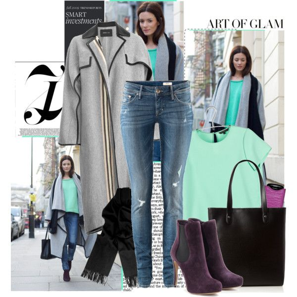 To Cold on Spring: Coat + Color, created by bklana.polyvore.com