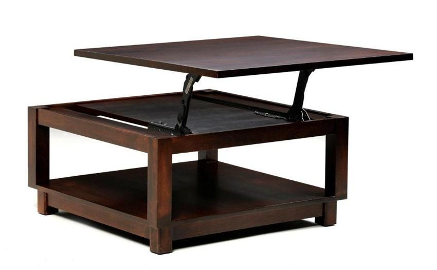 Lift Top Coffee Table Square 5