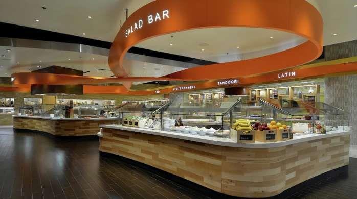 aria jantar the buffet salada bar restaurant designs pinterest rh pinterest com aria casino buffet hours Caesars Palace Buffet