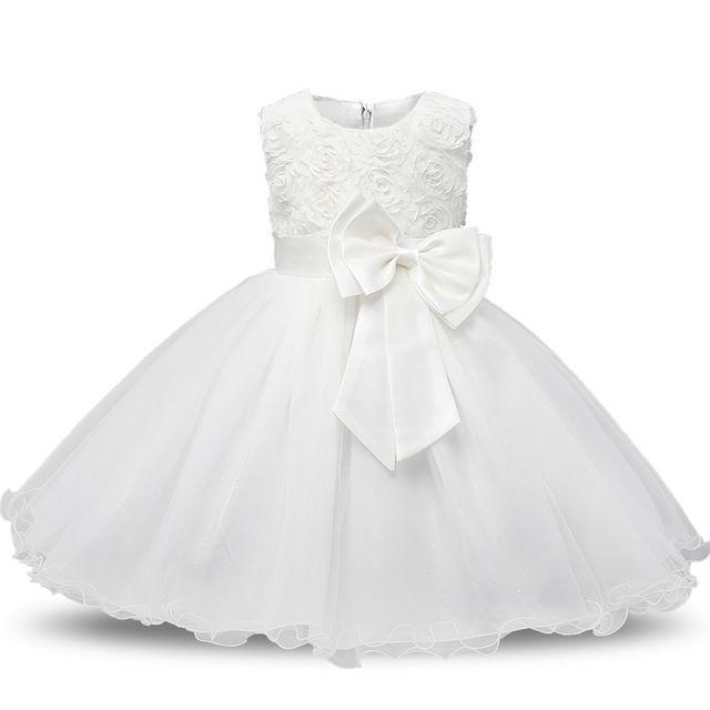 9d03e02d71f Princesse Fleur Fille Robe D été 2017 Tutu De Mariage de Fête  D anniversaire Robes Pour Filles Enfants Costume Adolescent De Bal  Conceptions