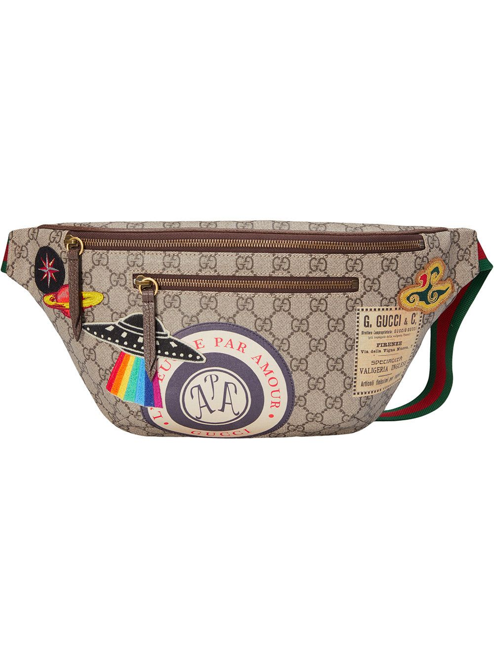 Gucci Gucci Courrier GG Supreme belt bag  33f79ec5895