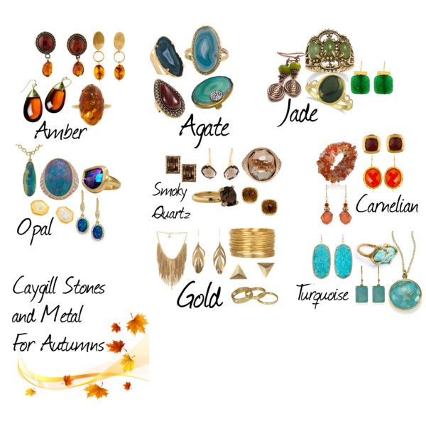 Caygill Stones And Metals For Autumn Soft Autumn Deep