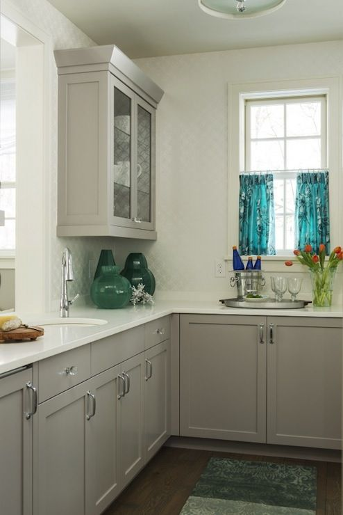 Gray Kitchen Cabinet Colors - Contemporary - kitchen - Benjamin