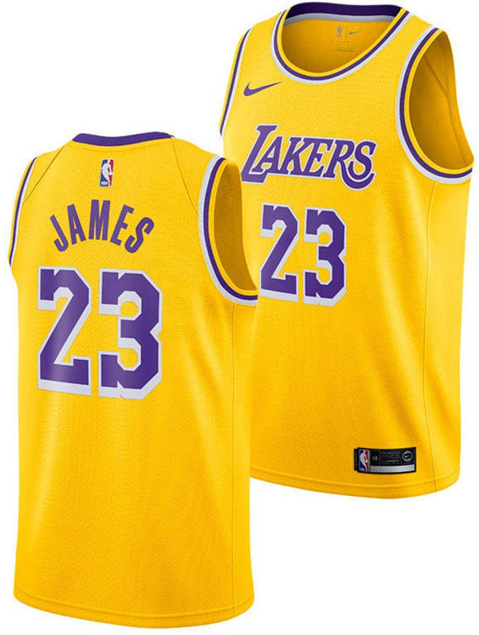 Nike LeBron James Los Angeles Lakers Icon Swingman Jersey 0077db491