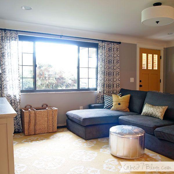 Living Room via Cape 27 Blog for the home Pinterest