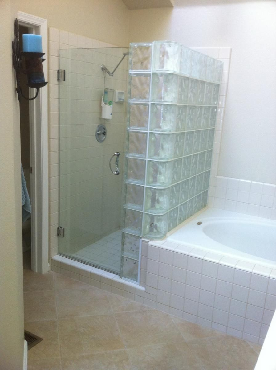Glass Tile Bathroom Designs Brilliant Review