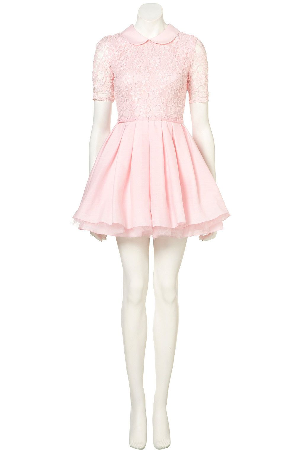 Lace dress pink  little baby doll  Pretty Please  Pinterest  Baby dolls and