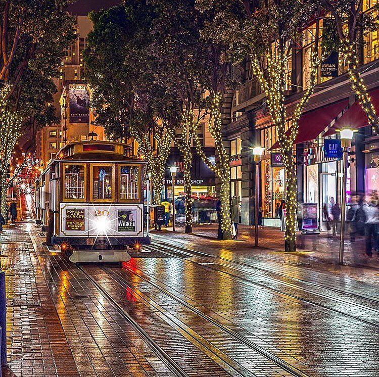 Christmas In San Francisco.Merry Christmas San Francisco Sanfrancisco Sf Bayarea