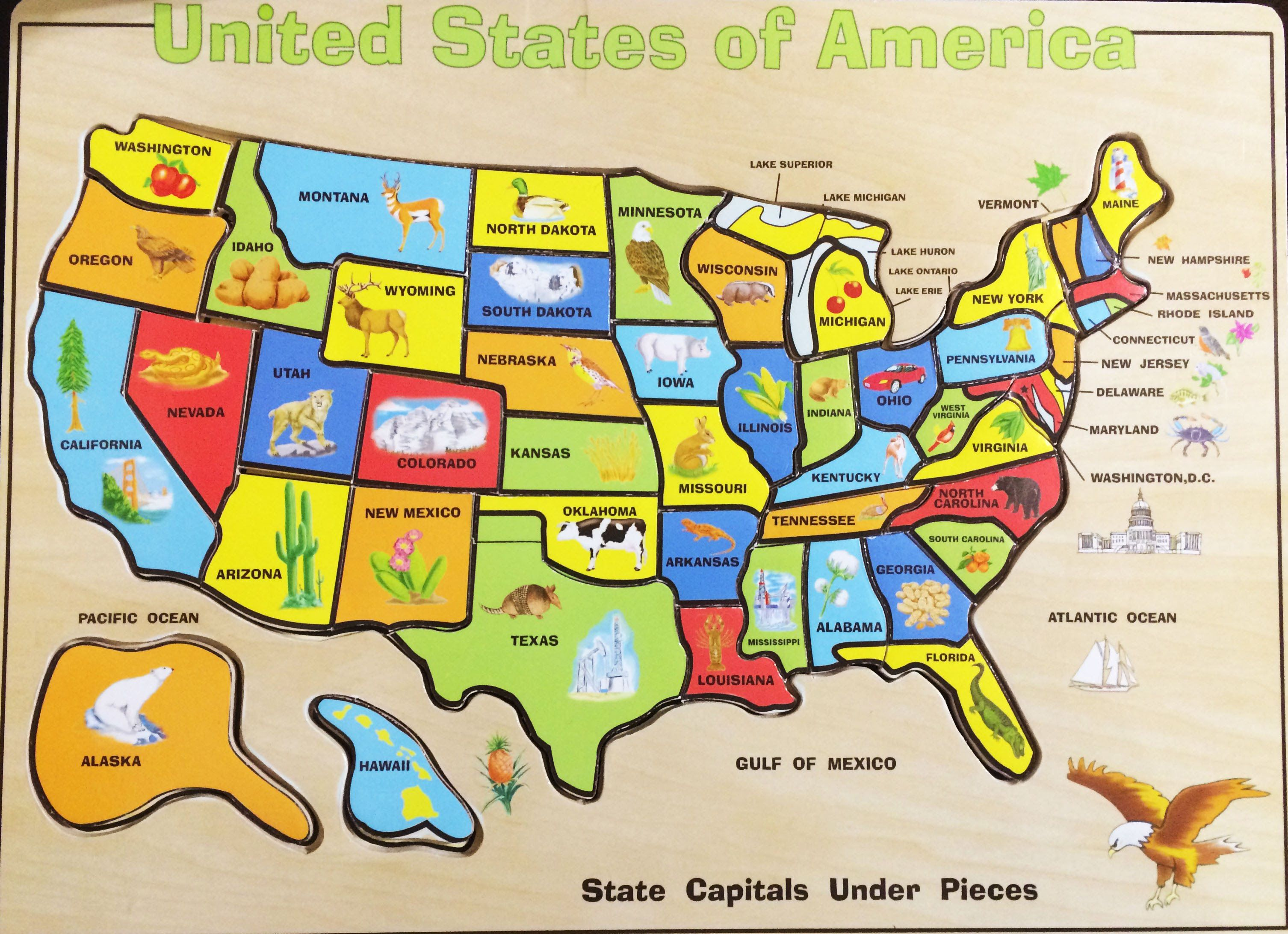 Maps United State Map Puzzle Blog With Collection Of Maps All - Unite state map