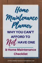 Photo of The Home Maintenance Planner: Why You Need One and What to Include  Versuchen Si…