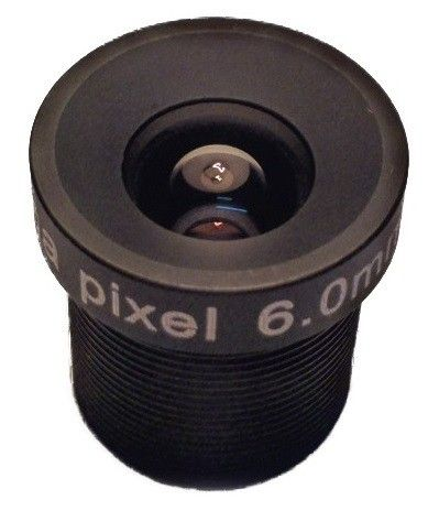 "Good price 6mm 50 Degree CCTV Lens IR 1/3 ""Megapixel HD FIXED LENS M12x0.5 For CCTV Camera AMTV6BW best buy"