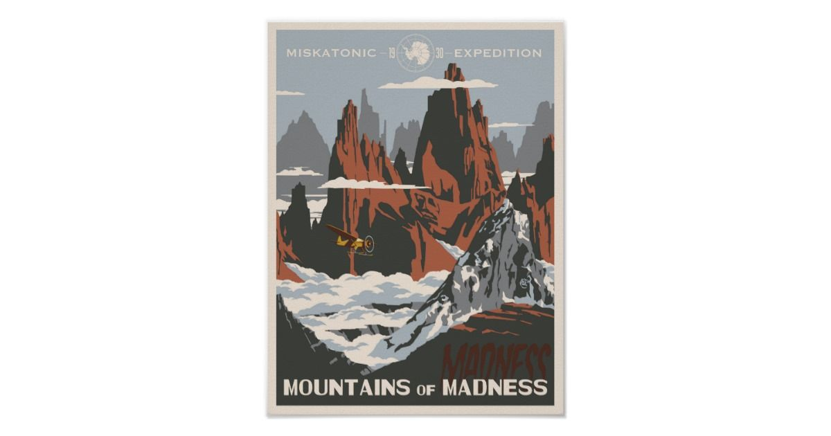 Mountains of Madness Poster Mountains of