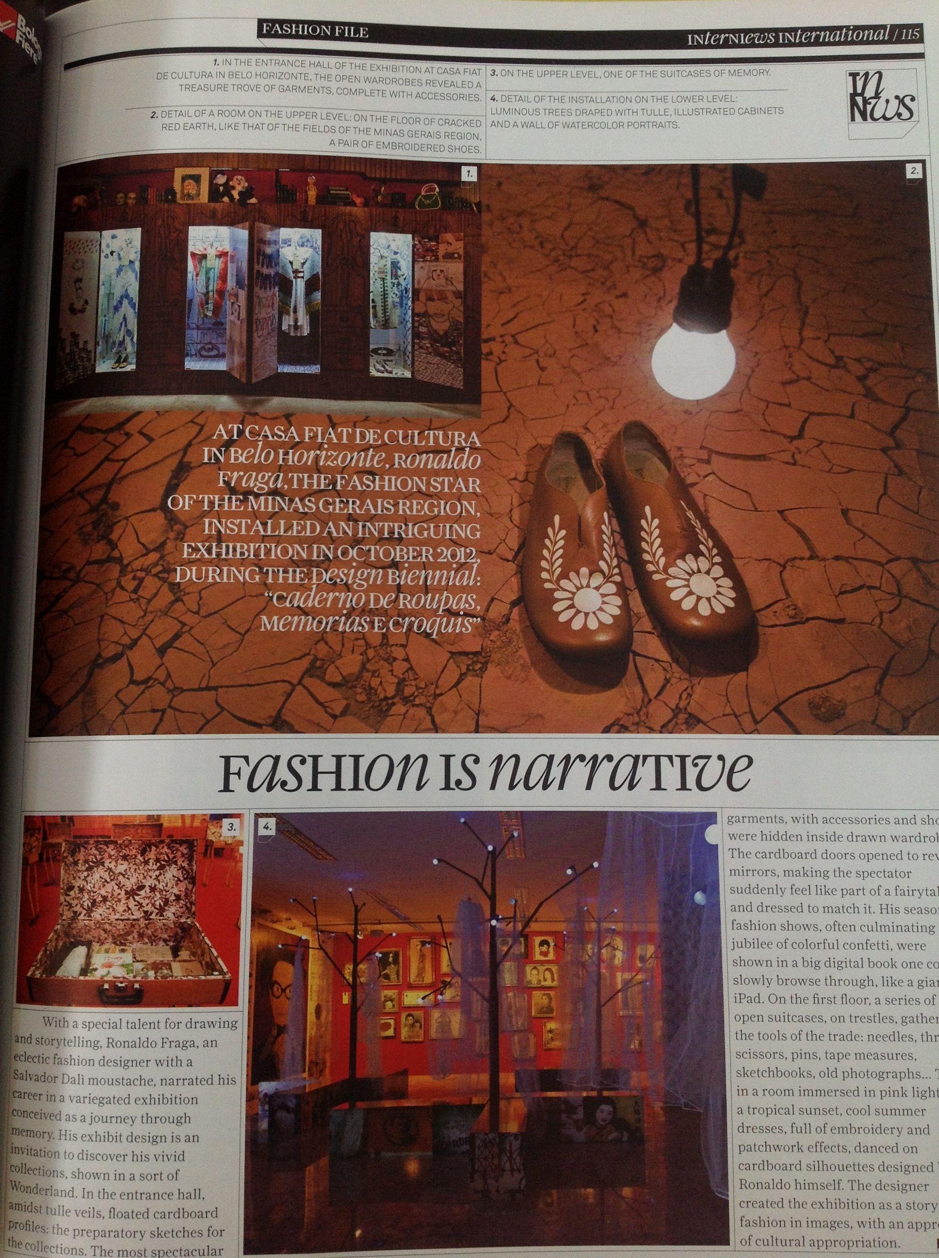 fashion is a narrative
