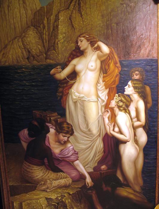 Greek Goddess Aphrodite Painting