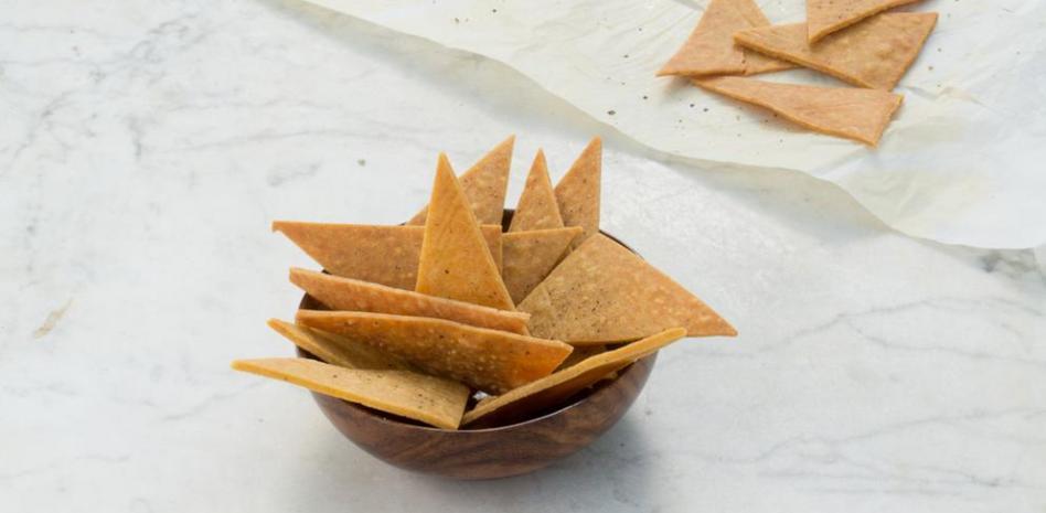 Nachos de garbanzos, un snack saludable para cualquier ocasión