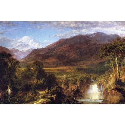 Buyenlarge Heart Of The Andes By Frederic Edwin Church