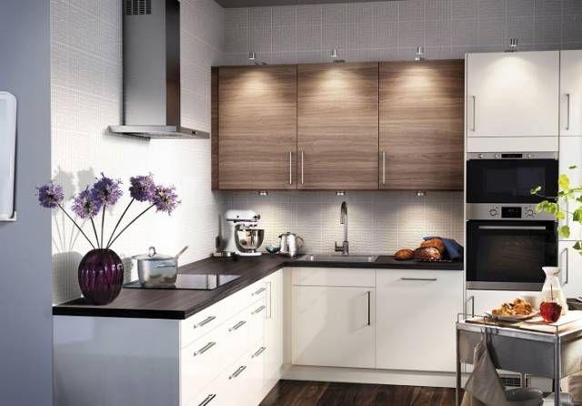 готовые кухни икеа фото Interiorsideas в 2019 г Small Modern