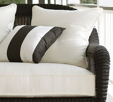 Palmetto Outdoor Furniture Cushions #potterybarn