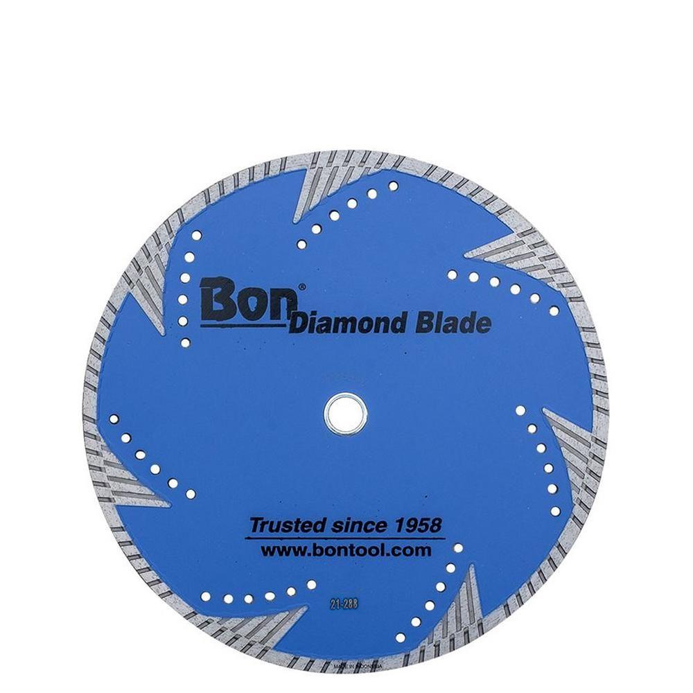 Bon Tool 12 In X 125 In Diamond Blade Hardscape 21 288 Brick Stone Concrete Tools Blade