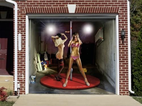 3D Door Murals | Tune your home with garage door murals [NSFW]