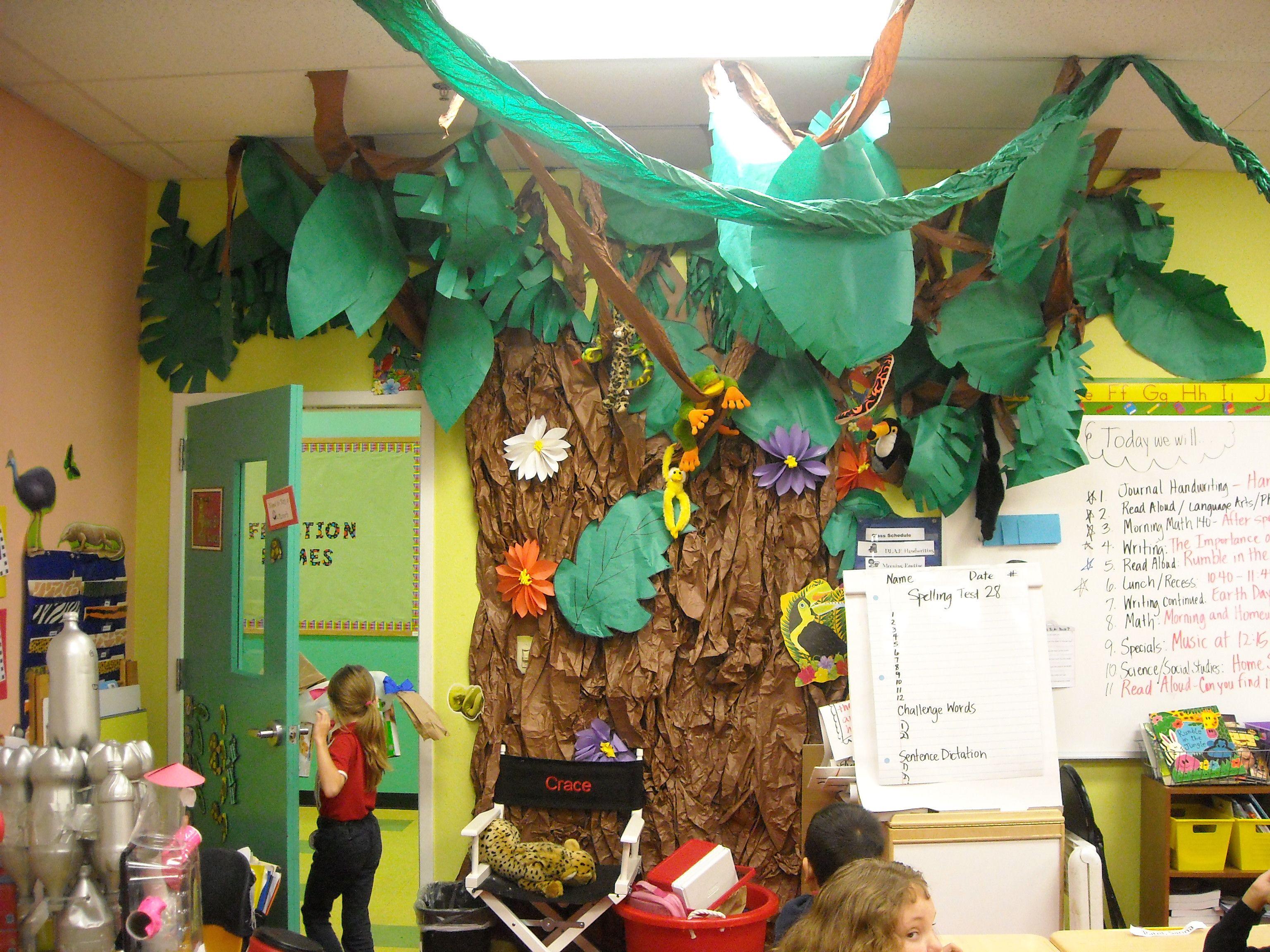Rainforest Room Theme