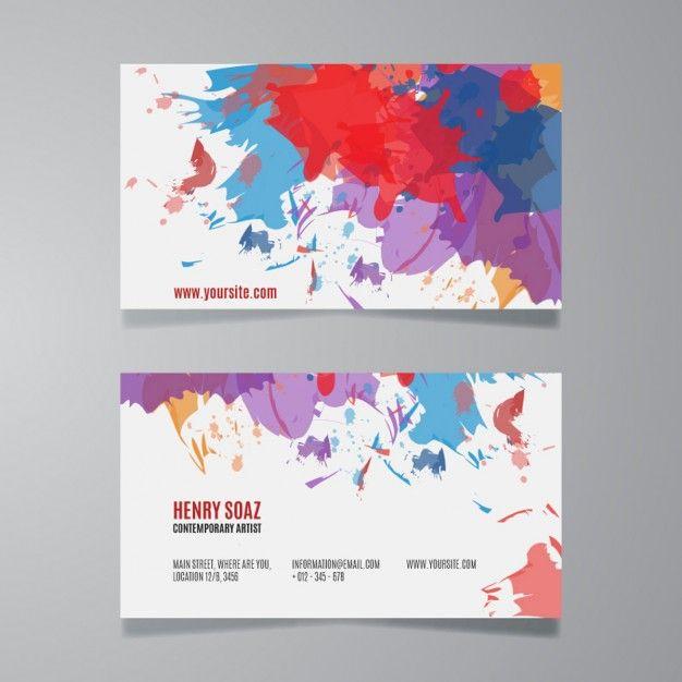 Image result for paint splatter business card project 5 identity image result for paint splatter business card colourmoves
