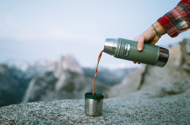 Glacier Point Coffee thermos, Stanley thermos, Thermos