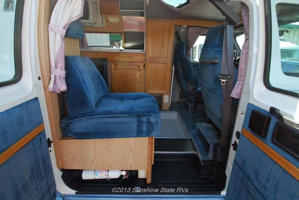 class b rv floor plans new class b 1999 roadtrek 190 popular pinterest rv van camping. Black Bedroom Furniture Sets. Home Design Ideas
