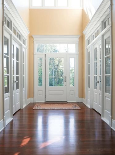 Andersen Kml By Andersen Straightline Entranceway With Sidelights
