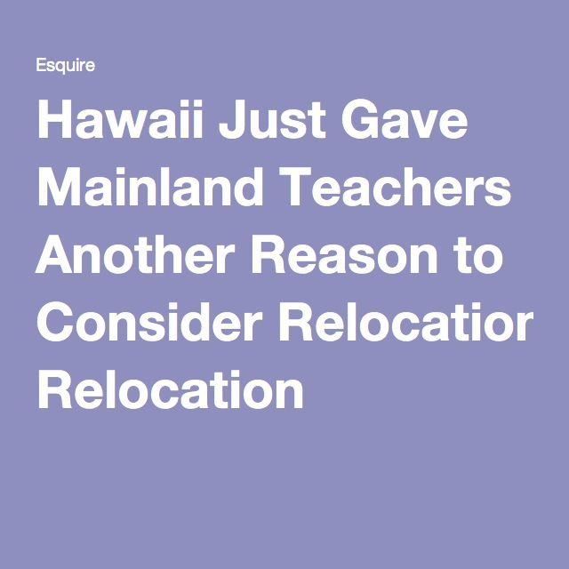 Hawaii Just Gave Mainland Teachers Another Reason to Consider Relocation