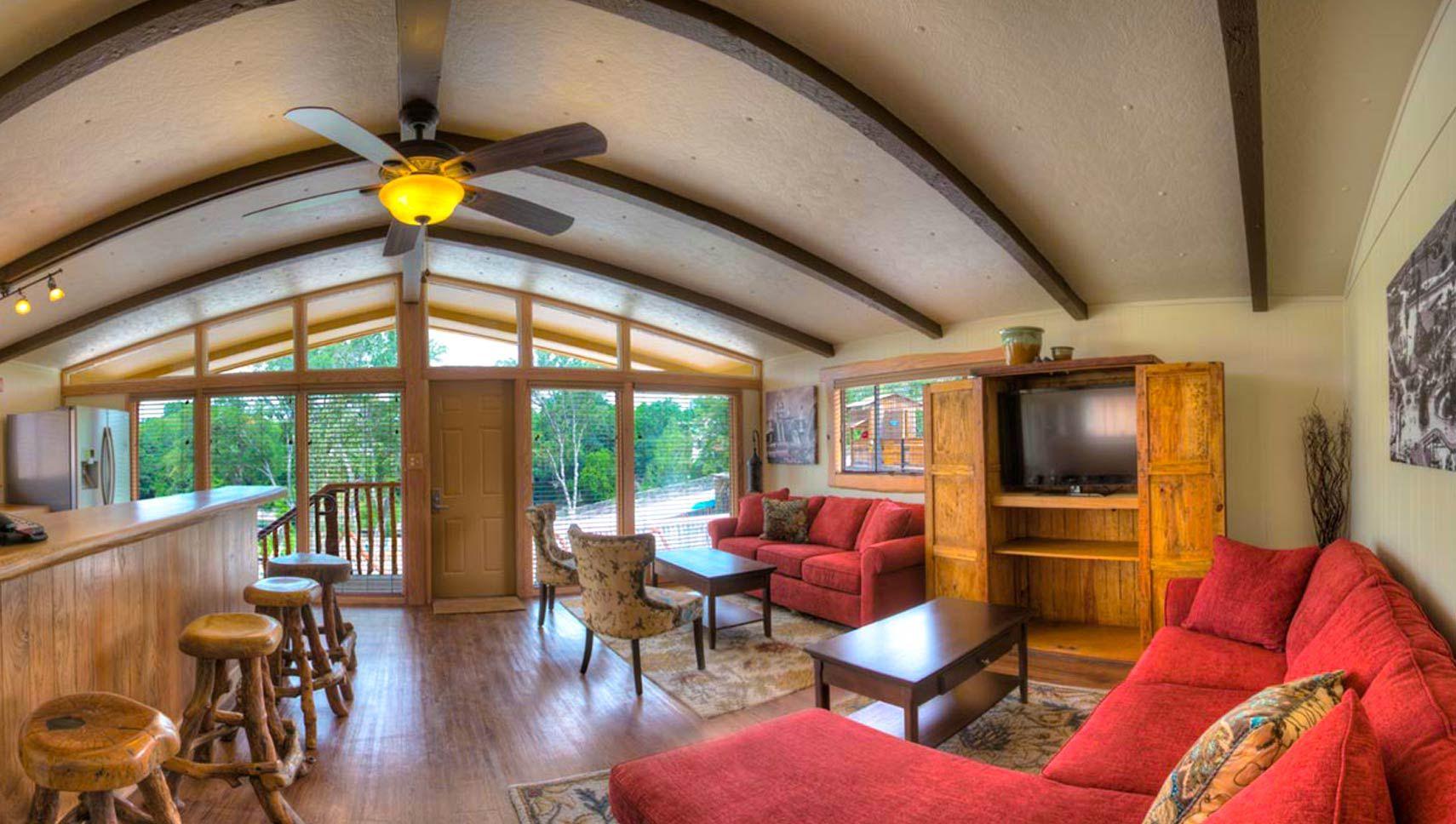 Riverbend Cabins The Resort At Schlitterbahn New Braunfels Hotel Suite Luxury Schlitterbahn New Braunfels Cabin
