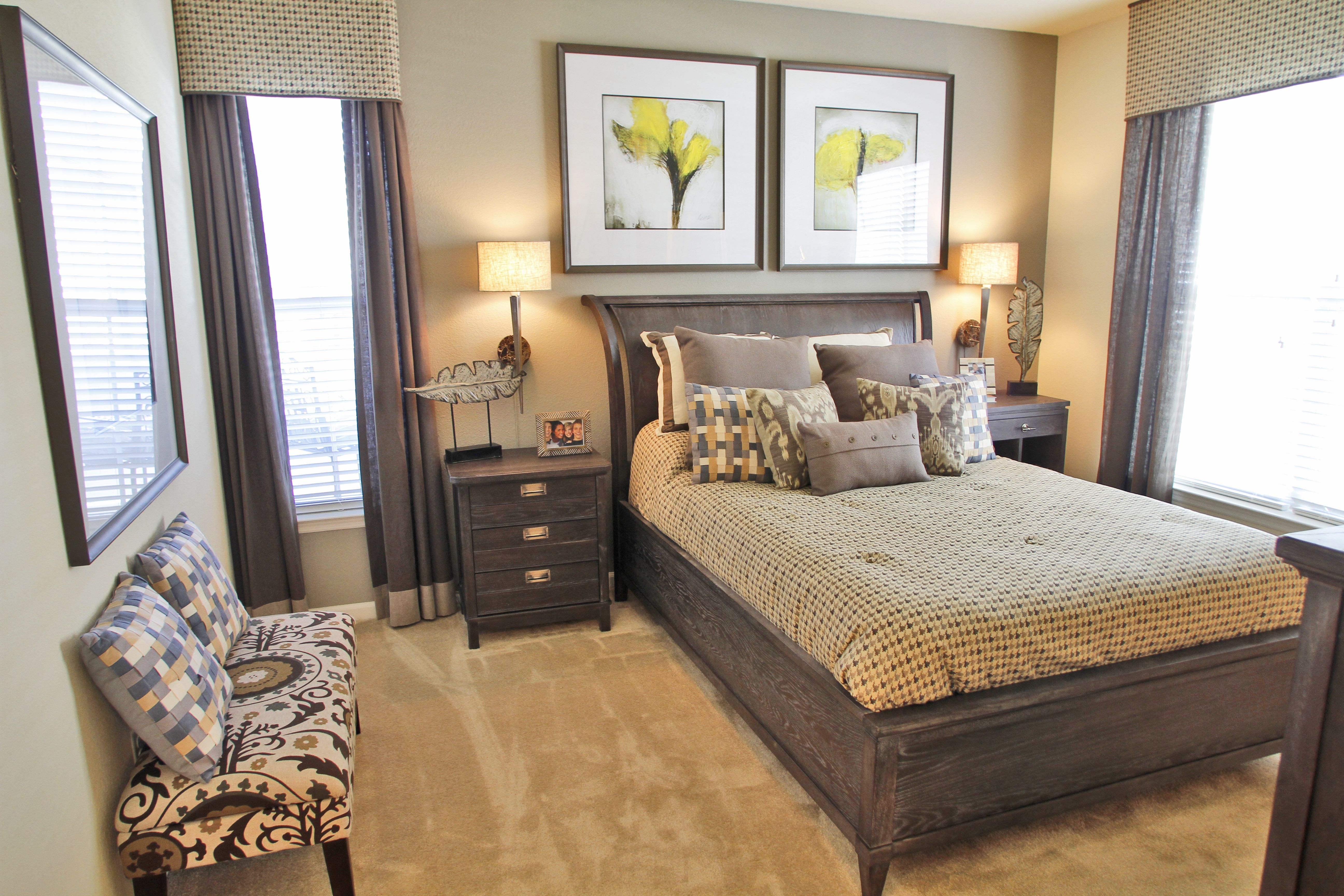 Clairmont At Hillandale Durham Nc A Premier Gated Apartment Community Convenient To Everything Rooms To Go Bedroom White Bedroom Decor 1 Bedroom Apartment