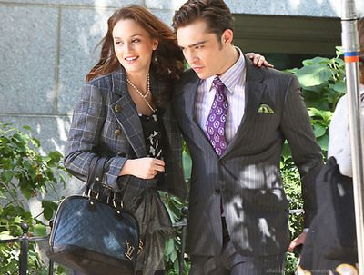 Blair and Chuck.  Chuck and Blair.