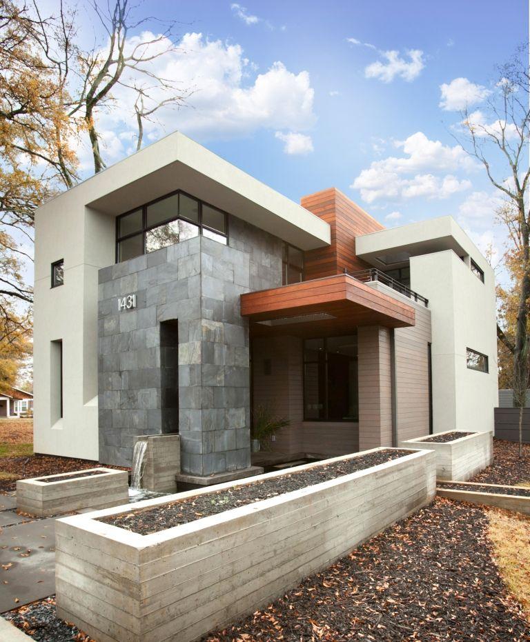 Modern Architecture Atlanta atlanta modern home tour - la france residence.has a little fl