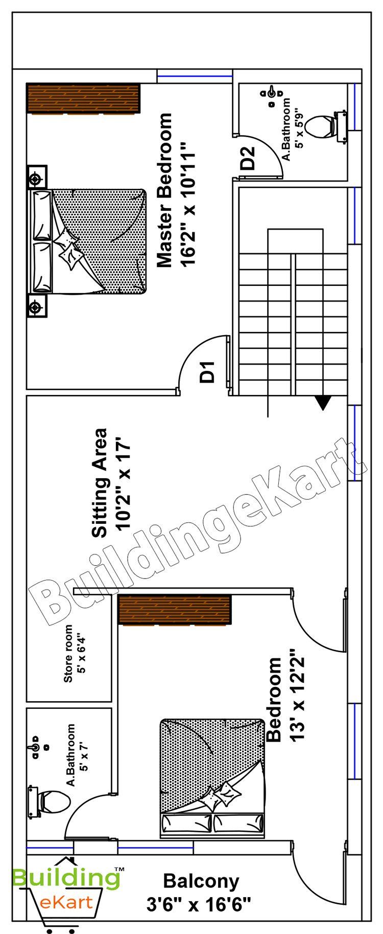 20 60 Duplex House Plan In Prakasam District Andhra Pradesh Duplex House Plans House Plans Building Construction Materials