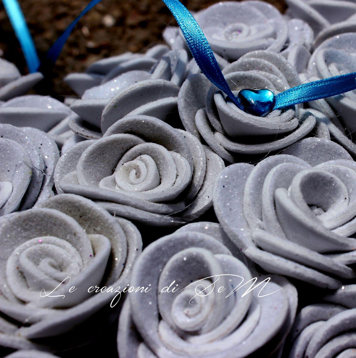 rose cuscinetto portafedi